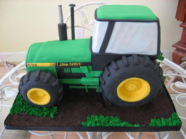 Prime Birthday Cakes Fondant Tractor Cake Yesbirthday Home Of Funny Birthday Cards Online Unhofree Goldxyz