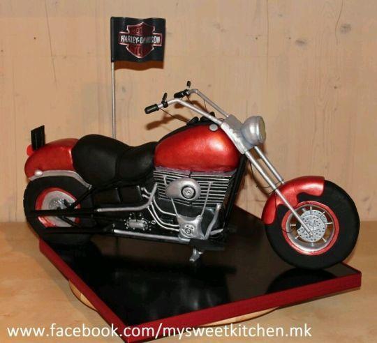Pleasant Birthday Cakes Harley Davidson Cake Yesbirthday Home Of Funny Birthday Cards Online Fluifree Goldxyz