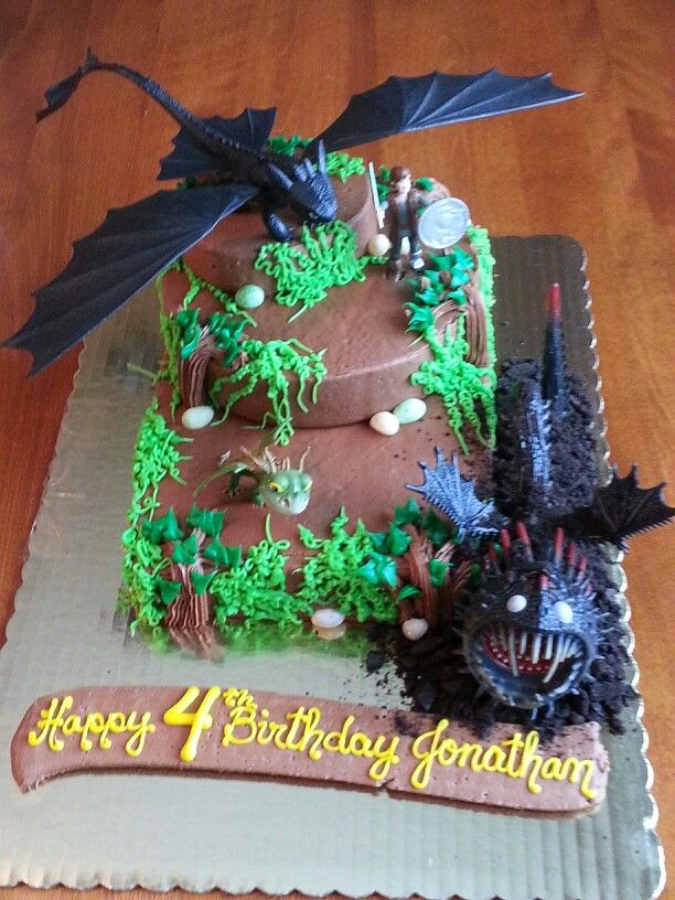Birthday Cakes How To Train Your Dragon Cake Yesbirthday Home Of Birthday Wishes Inspiration