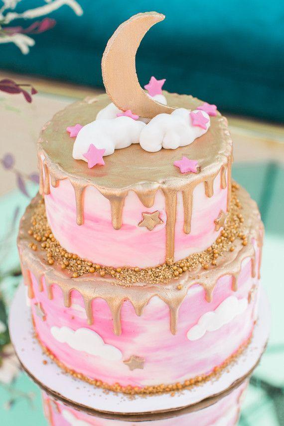 Strange Birthday Cakes Moon Baby Shower Cake Yesbirthday Home Of Personalised Birthday Cards Cominlily Jamesorg