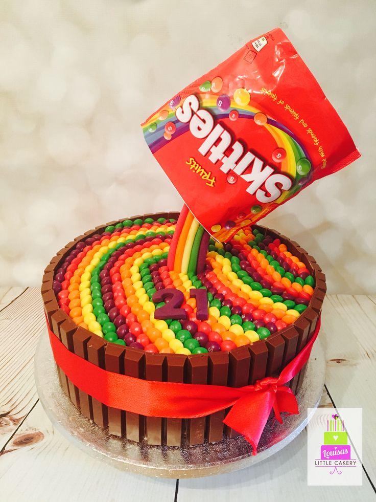 Wondrous Birthday Cakes Skittles Gravity Cake Yesbirthday Home Of Birthday Cards Printable Benkemecafe Filternl