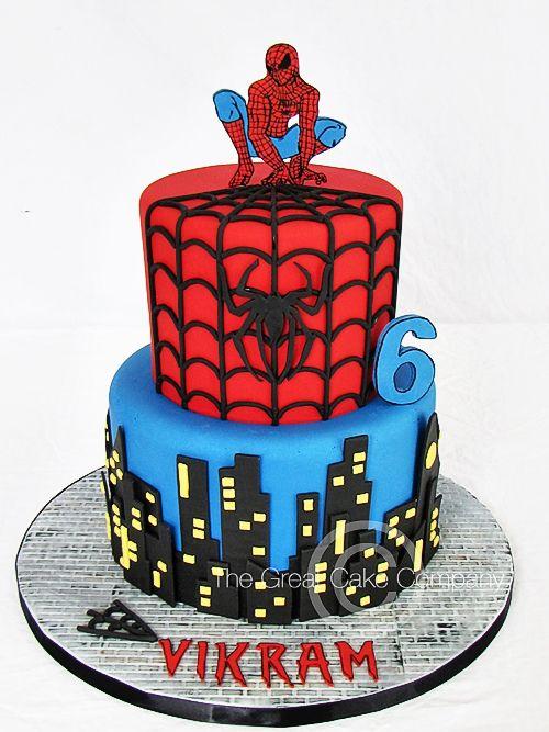 Incredible Birthday Cakes Spider Man Cake Yesbirthday Home Of Birthday Funny Birthday Cards Online Alyptdamsfinfo