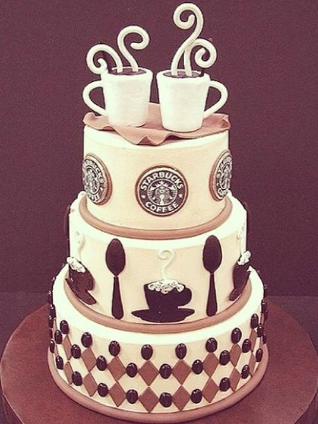 Excellent Birthday Cakes Starbucks Cake Yesbirthday Home Of Birthday Funny Birthday Cards Online Fluifree Goldxyz