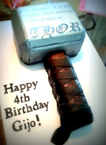 Strange Birthday Cakes Thor Cake Yesbirthday Home Of Birthday Wishes Personalised Birthday Cards Paralily Jamesorg