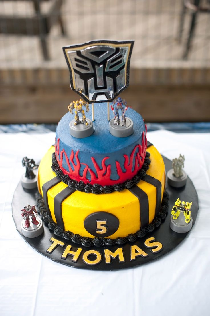 Incredible Birthday Cakes Transformers Birthday Cake Yesbirthday Home Funny Birthday Cards Online Alyptdamsfinfo