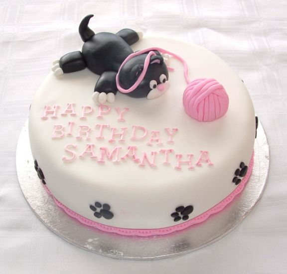 Brilliant Birthday Cakes Cat Cake Tap The Link Now To See All Of Our Personalised Birthday Cards Epsylily Jamesorg