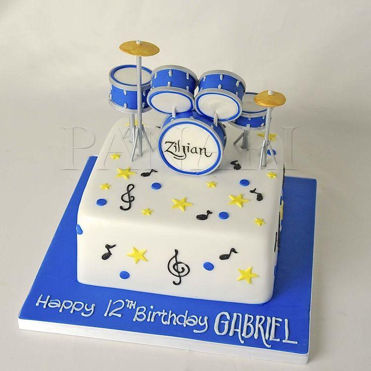Birthday Cakes : drum cake | YesBirthday - Home of Birthday