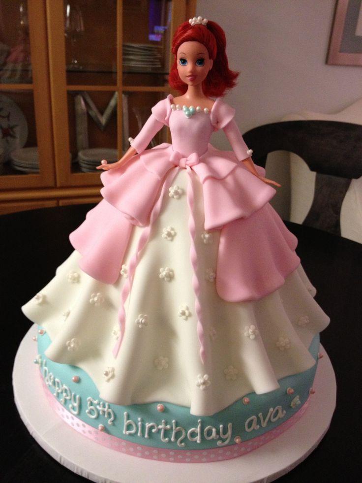 Fine Birthday Cakes The Ariel Princess Cake Yesbirthday Home Of Funny Birthday Cards Online Drosicarndamsfinfo