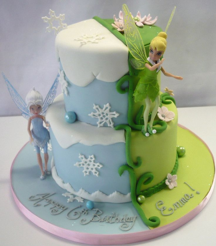 Phenomenal Birthday Cakes Tinkerbell Periwinkle Cake Monika Bakes Birthday Cards Printable Opercafe Filternl