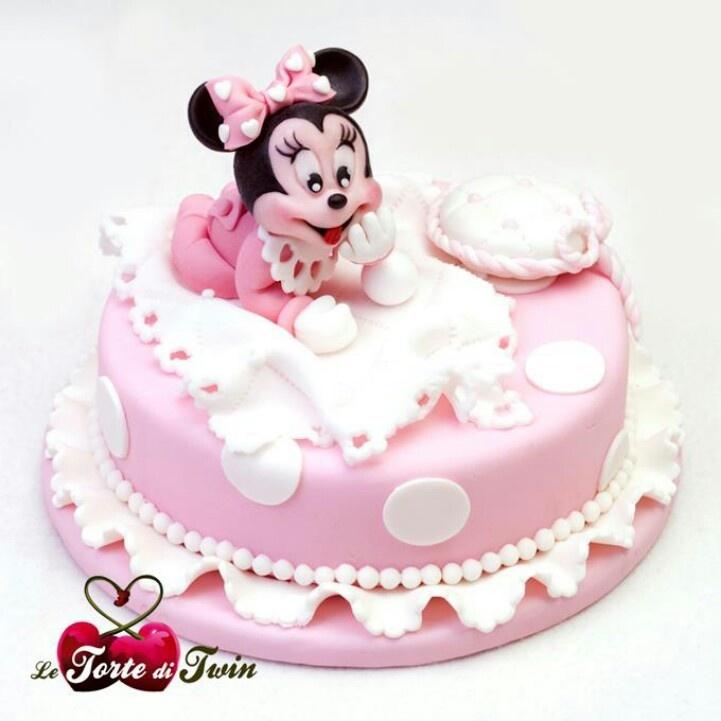 Astonishing Birthday Cakes Baby Minnie Cake Yesbirthday Home Of Birthday Funny Birthday Cards Online Unhofree Goldxyz
