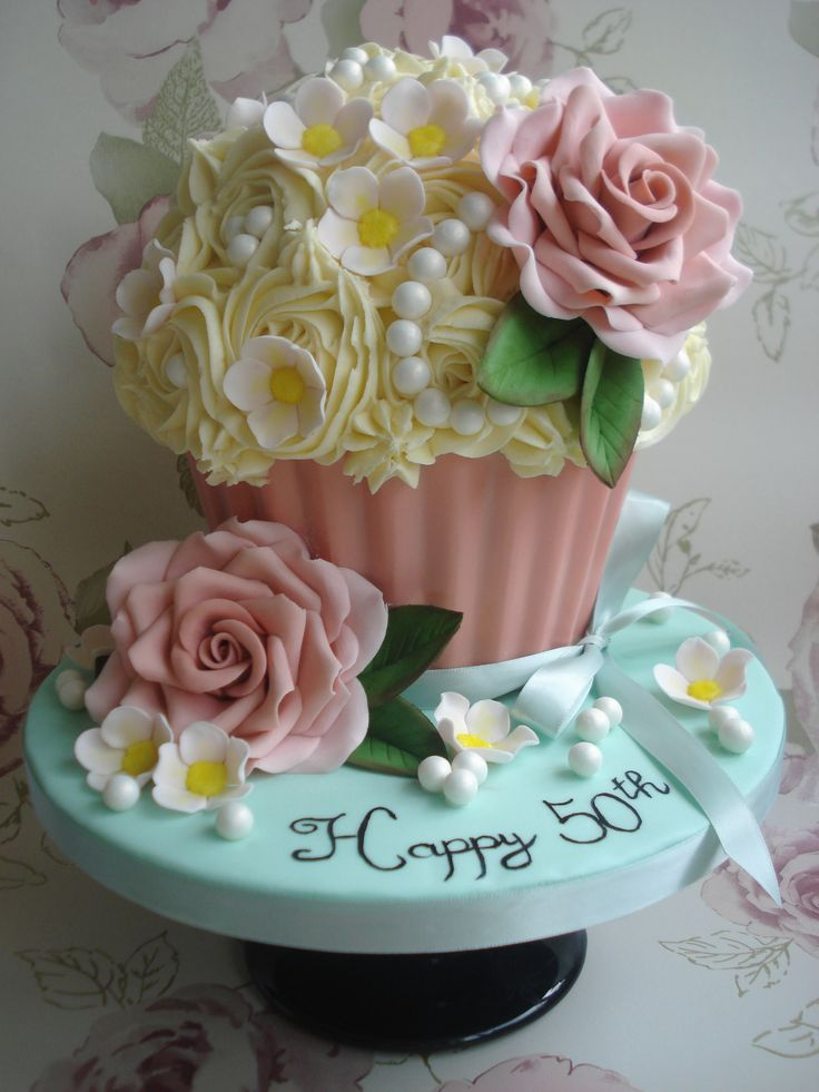 Remarkable Birthday Cakes Giant Cupcake Yesbirthday Home Of Birthday Personalised Birthday Cards Xaembasilily Jamesorg
