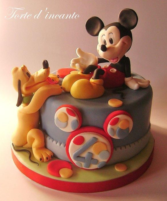 Awesome Birthday Cakes Mickey Mouse Pluto Cake I Want This Kind Of Funny Birthday Cards Online Elaedamsfinfo