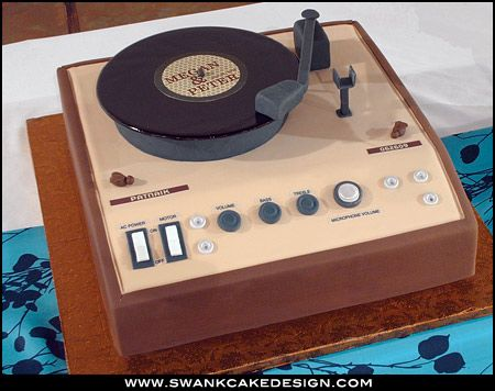 Prime Birthday Cakes Record Player Cake Yesbirthday Home Of Birthday Cards Printable Benkemecafe Filternl