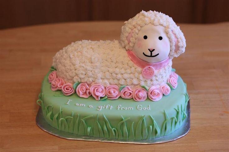 Prime Birthday Cakes Lamb Christening Cake First Communion Birthday Cards Printable Inklcafe Filternl