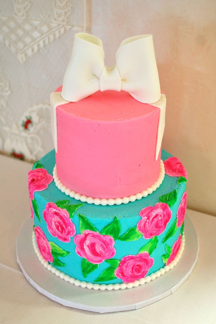 Pleasing Birthday Cakes Singing In The Shower A Lilly Pulitzer Bridal Personalised Birthday Cards Paralily Jamesorg