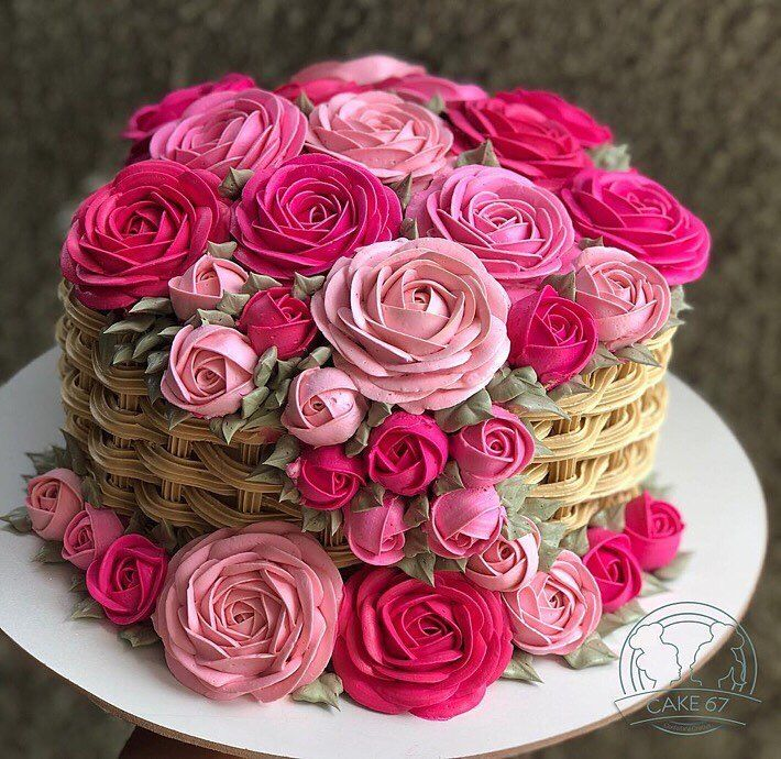 Wondrous Birthday Cakes Cake Flower Basket Yesbirthday Home Of Funny Birthday Cards Online Alyptdamsfinfo