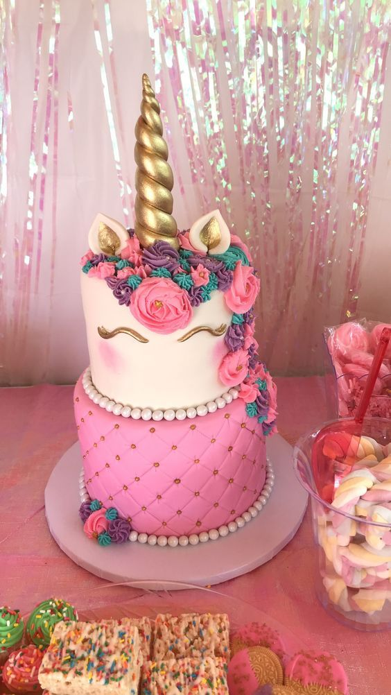 Stupendous Unicorn Birthday Cake Creative Birthday Cake Ideas For Girls Funny Birthday Cards Online Fluifree Goldxyz