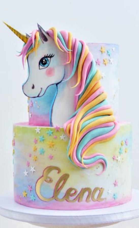 Surprising Unicorn Birthday Cake The 10 Most Magical Unicorn Cake Ideas On Funny Birthday Cards Online Barepcheapnameinfo