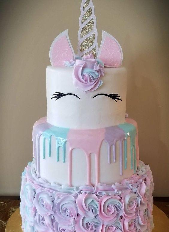 Tremendous Unicorn Birthday Cake Creative Birthday Cake Ideas For Girls Funny Birthday Cards Online Hendilapandamsfinfo