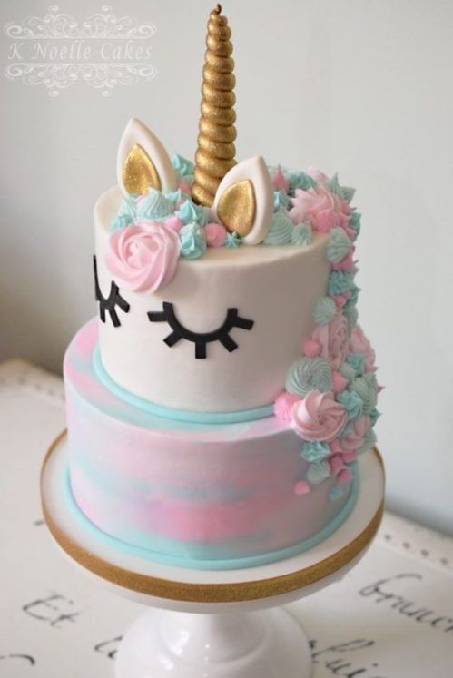 Enjoyable Unicorn Birthday Cake 10 Gorgeous Unicorn Birthday Cakes Personalised Birthday Cards Veneteletsinfo