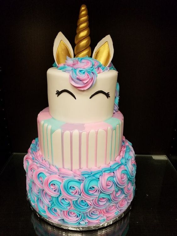 Pleasing Unicorn Birthday Cake Creative Birthday Cake Ideas For Girls Funny Birthday Cards Online Alyptdamsfinfo