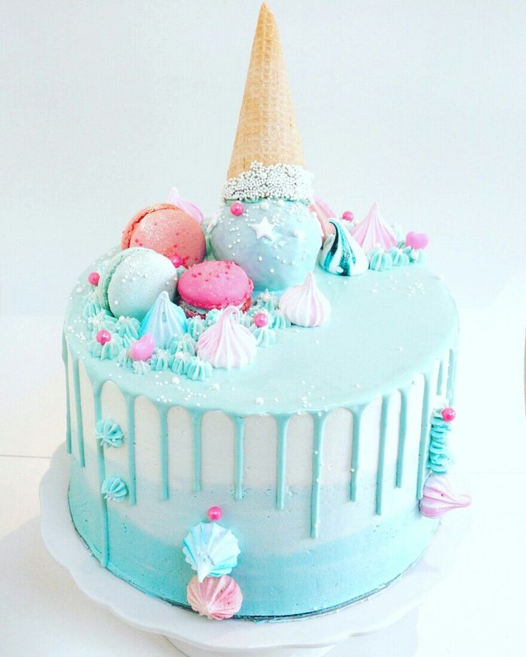 Brilliant Unicorn Birthday Cake Ice Cream Cake Yesbirthday Funny Birthday Cards Online Alyptdamsfinfo