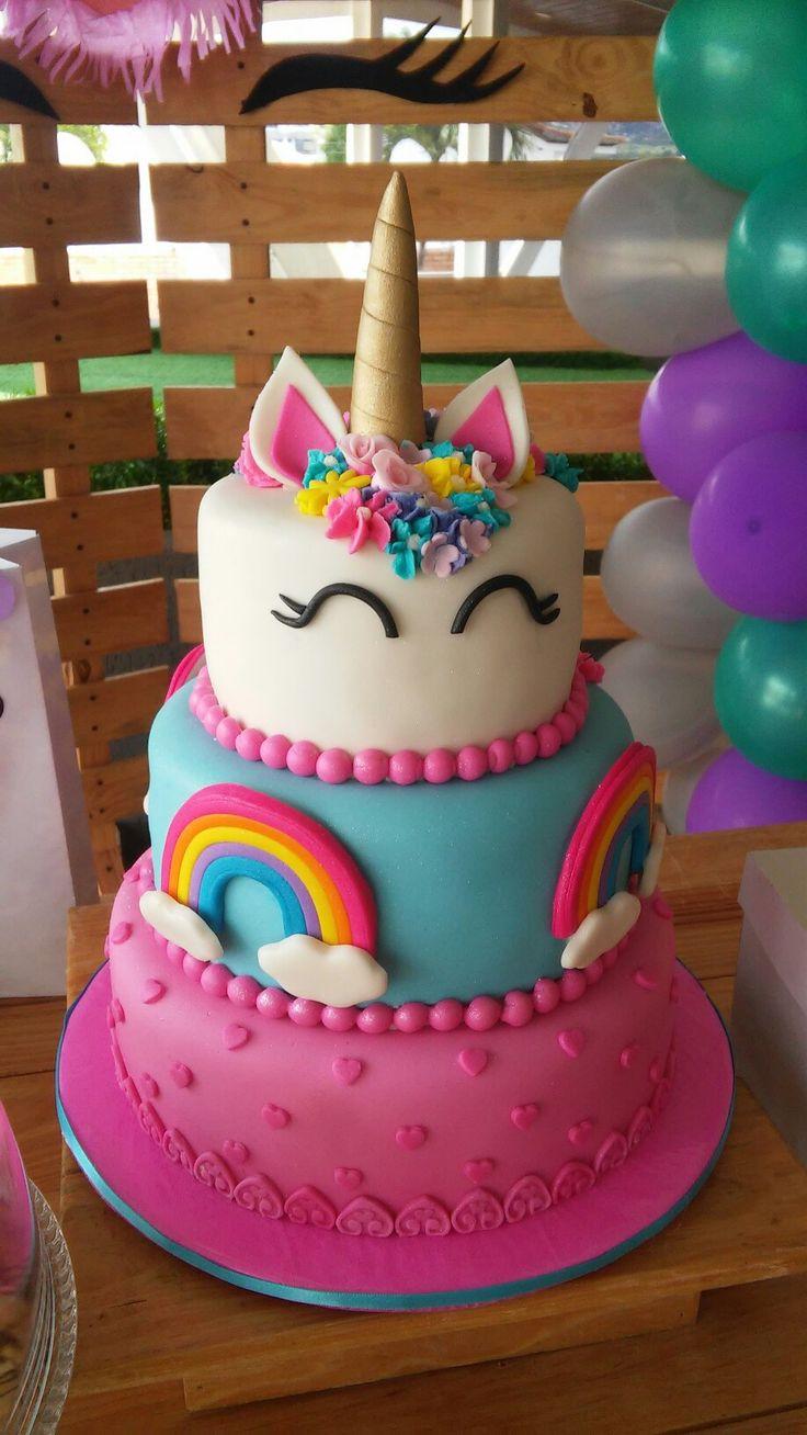 Miraculous Unicorn Birthday Cake Kendalls 6Th Birthday Cake Yesbirthday Personalised Birthday Cards Veneteletsinfo