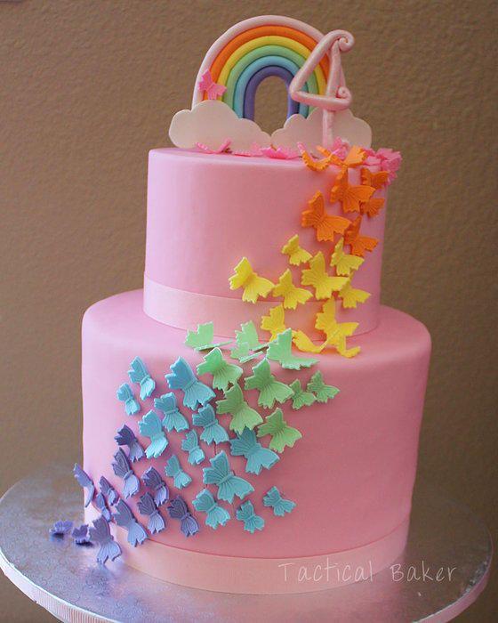 Stupendous Unicorn Birthday Cake The Unicorn Loving Little Girl With The Personalised Birthday Cards Xaembasilily Jamesorg