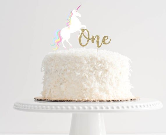 Pleasing Unicorn Birthday Cake Unicorn Birthday Cake Topper 1St Personalised Birthday Cards Paralily Jamesorg