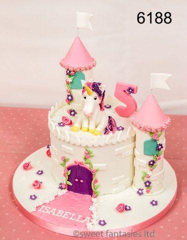 Excellent Unicorn Birthday Cake Unicorn Castle 5Th Birthday Cake Cake No Personalised Birthday Cards Cominlily Jamesorg
