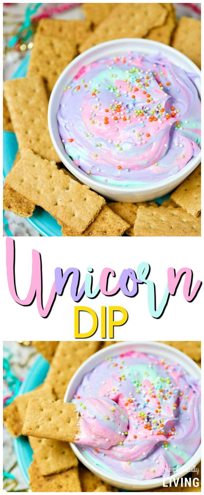 Swell Unicorn Birthday Cake Unicorn Dip Unicorn Unicorndip Funny Birthday Cards Online Drosicarndamsfinfo