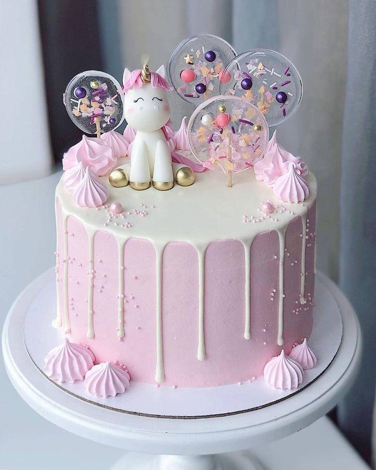 Wondrous Unicorn Birthday Cake Unicorn Lollipop Cake By Bakelikechef Birthday Cards Printable Inklcafe Filternl