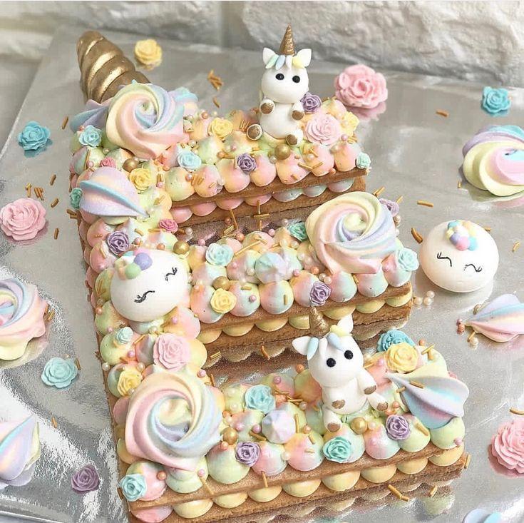 Remarkable Unicorn Birthday Cake Unicorn Themed E Cookie Cake For All Funny Birthday Cards Online Hendilapandamsfinfo