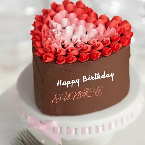 Terrific Happy Birthday Gif Happy Birthday Heart Shape Cake For Lover Funny Birthday Cards Online Fluifree Goldxyz