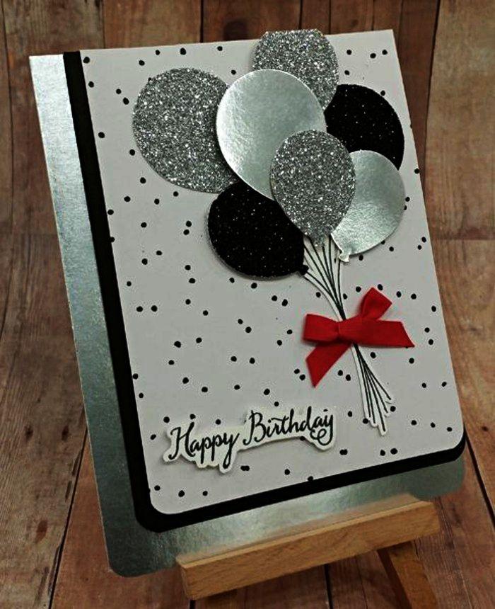 carte a faire soi meme Happy Birthday Wiches : ▷ 1001 + idées pour une carte d