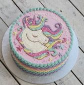 Outstanding Unicorn Birthday Cake 54 Ideas Birthday Girl Cake Princess Funny Birthday Cards Online Fluifree Goldxyz