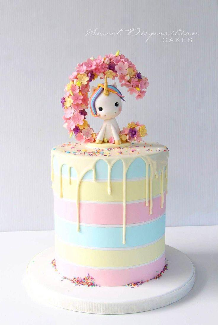 Awe Inspiring Unicorn Birthday Cake 60 Simple Unicorn Cake Design Ideas Funny Birthday Cards Online Overcheapnameinfo
