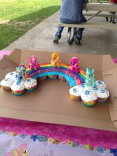 Sensational Unicorn Birthday Cake Cupcake Birthday Cakes For Girls Evas Personalised Birthday Cards Epsylily Jamesorg