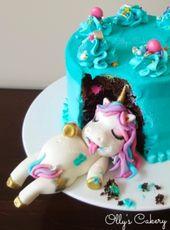Super Unicorn Birthday Cake Cute Fat Unicorn Cake Ever Made By Ollys Funny Birthday Cards Online Necthendildamsfinfo