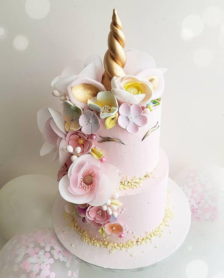 Fine Unicorn Birthday Cake Instagram Post By Anas Cake Studio Jun Funny Birthday Cards Online Aboleapandamsfinfo