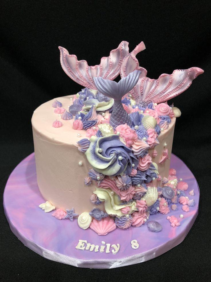 Stupendous Unicorn Birthday Cake Mermaid Birthday Cake Yesbirthday Home Personalised Birthday Cards Veneteletsinfo