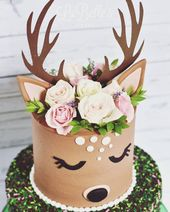 Remarkable Unicorn Birthday Cake Oh So Sweet Deer The Fresh Florals Really Birthday Cards Printable Inklcafe Filternl