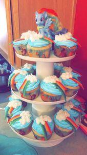 Marvelous Unicorn Birthday Cake Rainbow Dash Birthday Cake 5 Rainbow Dash Funny Birthday Cards Online Fluifree Goldxyz