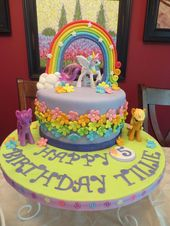 Admirable Unicorn Birthday Cake 23 Wonderful Picture Of My Little Pony Funny Birthday Cards Online Overcheapnameinfo