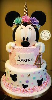 Surprising Unicorn Birthday Cake Gateau Minnie Mouse Gateau Souris Funny Birthday Cards Online Alyptdamsfinfo